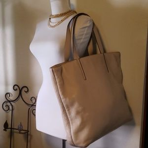 Kate Spade large grey leather tote 💖